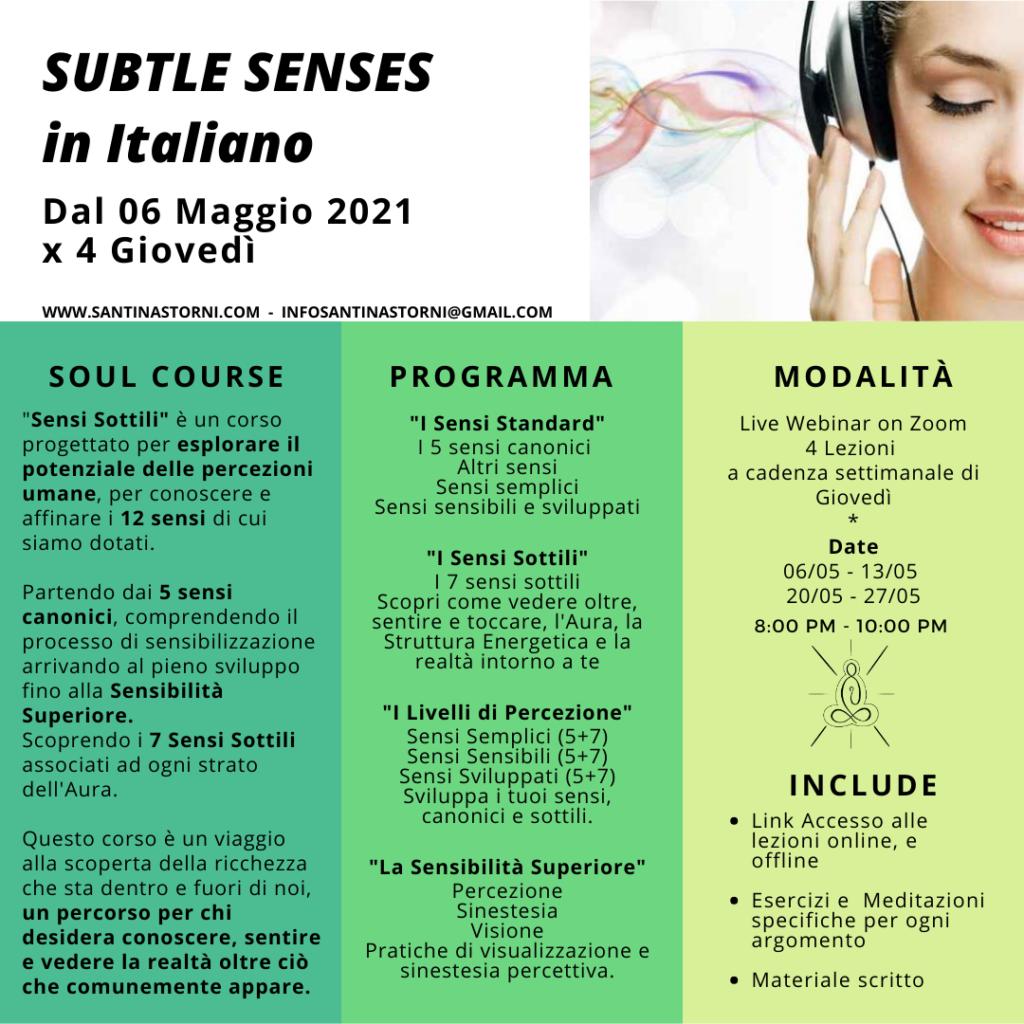 Subtle Senses -ITA
