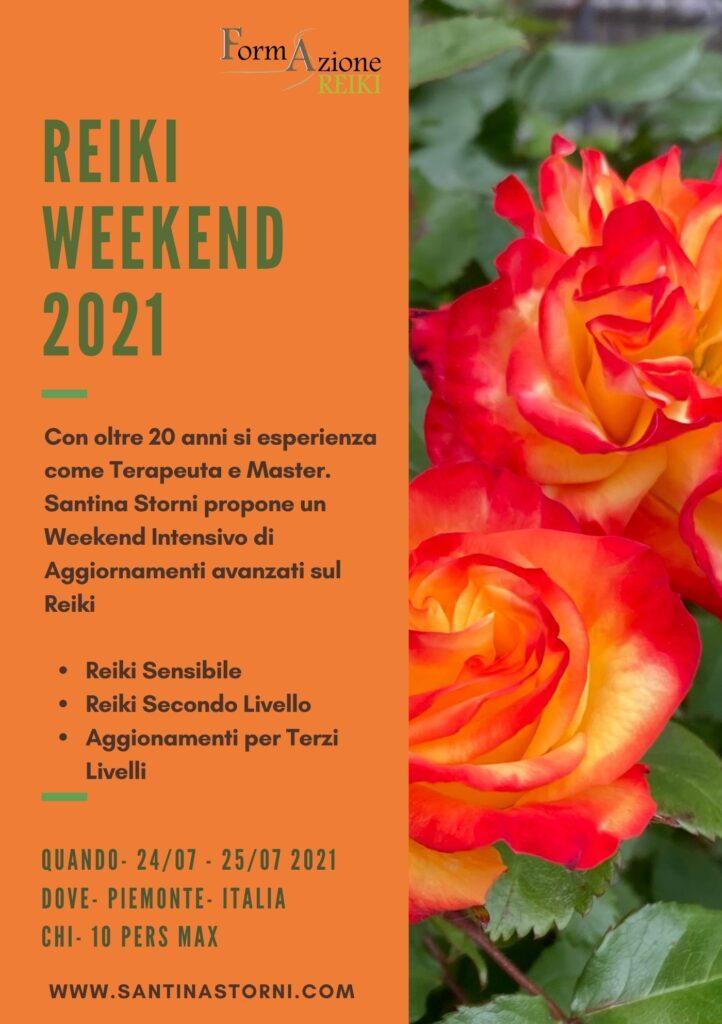 Intro Reiki Weekend